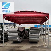 新乡户外推拉雨棚可定制,推拉活动雨棚图片
