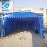 武汉市定制伸缩式雨棚安装图片1