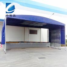 潜江市钢结构推拉雨棚信誉保证图片