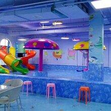 小型室内儿童游乐池设计设备安装