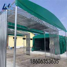 陕西西安推拉棚供应三轨推拉棚电动遮阳棚电动伸缩遮阳棚价格图片
