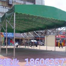 河北唐山遮阳棚厂家推拉移动遮阳篷可定做图片