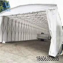 淮安市推拉活动篷推拉折叠雨棚价格电动雨棚多少钱图片