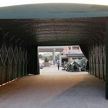 滨州市推拉活动雨棚伸缩雨棚可移动雨棚推拉棚哪有卖的图片
