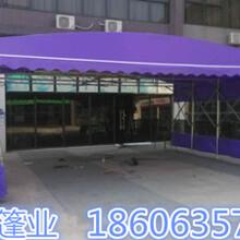 河南濮阳遮阳棚厂家移动推拉遮阳篷国标生产图片