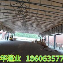 河南商丘移动式仓库棚大型活动仓储雨蓬厂家直销图片