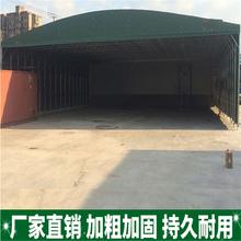陕西宝鸡市可移动的雨棚收缩式遮阳棚活动式遮阳棚推拉雨棚做法图片