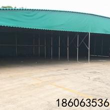 陕西渭南市电动收缩推拉棚可伸缩雨棚定做推拉棚移动推拉雨棚哪家好图片