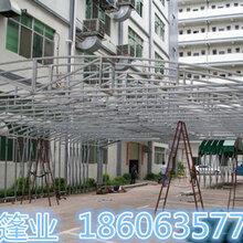 河南信阳遮阳棚厂家移动推拉遮阳篷高品质工程