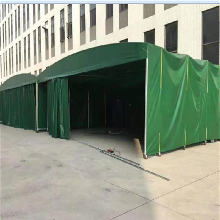 江西分宜仓库雨篷户外遮阳雨棚折叠式遮阳棚推拉篷生产
