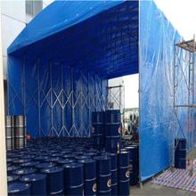 河南郑州市简易遮雨棚移动推拉篷仓储棚做雨棚价格图片
