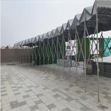 河南洛阳市伸缩推拉棚雨篷定做推拉雨蓬生产厂家雨棚制作安装图片