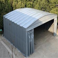江西余江阳台遮雨棚遮阳棚工程移动仓储篷电动伸缩雨棚多少钱