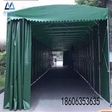 天津南開區全自動遮陽棚電動推拉棚大排檔推拉帳篷推拉雨篷多少錢圖片