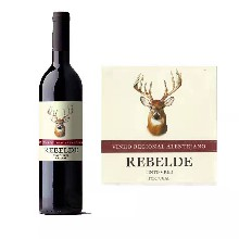 靈鹿紅酒葡萄牙原瓶進口14度半干型750ml圖片