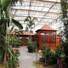 智能生态温室建设景观温室大棚搭建生态酒店温室造价图片
