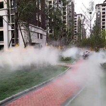 太原园林景观造雾系统图片
