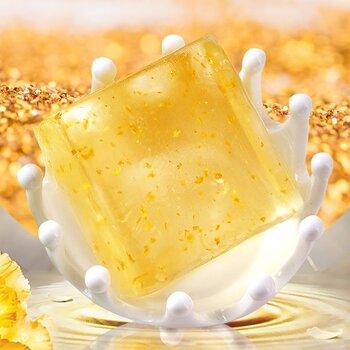 廣州博賢化妝品金箔皂能搓比奶油還要軟的泡沫代工