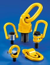 預制件吊環,起重吊環選型,外六方旋轉環使用須知圖片
