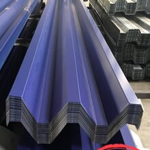 天津彩色压型钢板130-300-600W600型彩钢板低价销售图片