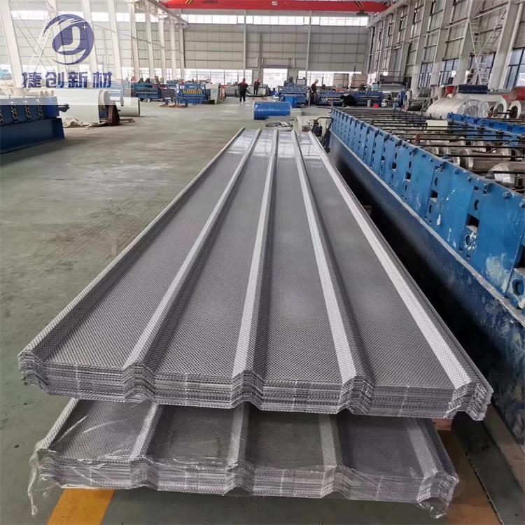 蚌埠25-400型鋁鎂錳屋面板安裝流程實體工廠