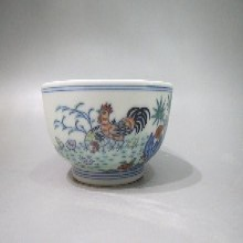 斗彩花卉紋碗,如有類似藏品需要出手,歡迎來電咨詢價格