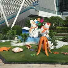 梅州专业定做玻璃钢园林雕塑厂家直销品种齐全图片