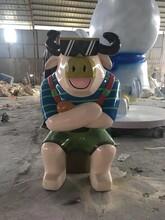 贵州专业生产动物卡通雕塑摆件厂家直销品种齐全图片