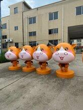 江门玻璃钢雕塑厂家广场卡通雕塑主题联尖动物卡通雕塑