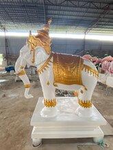 茂名玻璃钢仿真动物雕塑来图定制各款景观动物雕塑