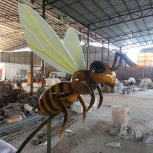 顺德玻璃钢雕塑厂家仿真昆虫雕塑造型户外景观雕塑摆件