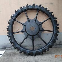 廠家直銷一體輪農用打藥機輪胎130080農用實心橡膠輪胎正品三包