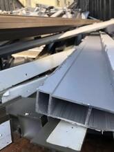 南城铝型材收购公司回收公司废旧物资回收图片