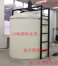 浙江塑料水塔化工储罐1吨到50吨塑料容器PE材质水塔水桶