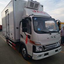 台州拉肉的小型冷藏车价格原装现货图片