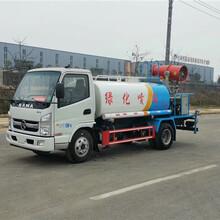 西安长安区12吨洒水车东风报价图片