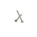 廠家直銷微型泵閥十字盤頭自攻釘半牙螺釘PB1.211電子螺絲