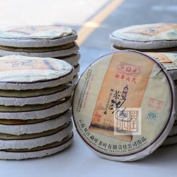 北京勐库戎氏2012年茶魂青饼(普洱生茶)批发