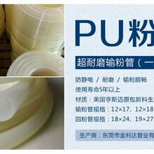 聚氨酯粉管防靜電粉末PU管耐磨噴涂輸粉管廠家圖片