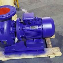 上海文都直销ISW80-100型卧式离心泵图片