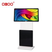 OBOO55寸旋转液晶广告机180°旋转式网络广告屏图片