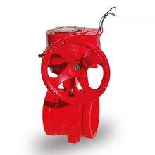 厂家直销D71X手动对夹蝶阀沟槽蝶阀