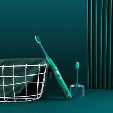 T1金屬風聲波電動牙刷-電動牙刷廠家批發-電動牙刷OEM貼牌圖片