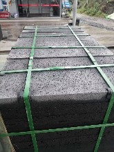 上海火山石价格优惠墙面地铺规格板、文化石、青石可定制图片