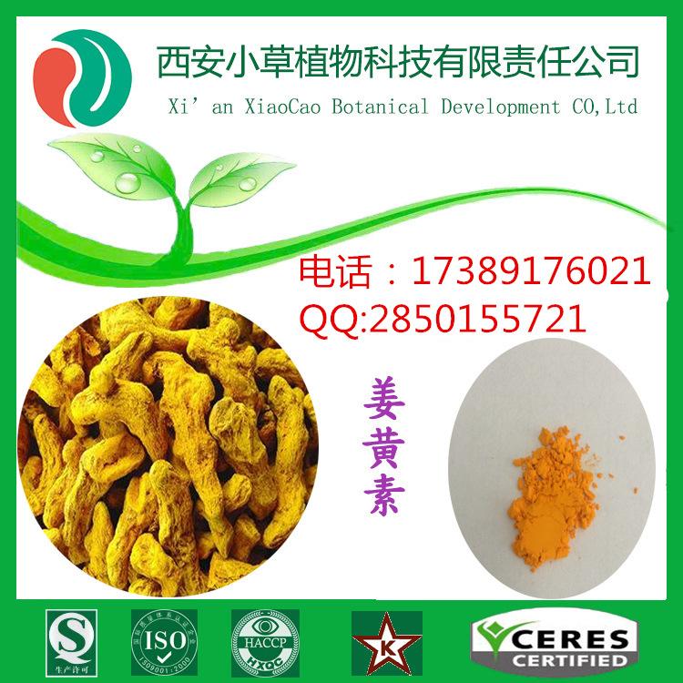 西安小草天然着色剂姜黄素95%