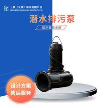 污水处理排水用200QW350-15-22潜水排污泵厂家推荐图片
