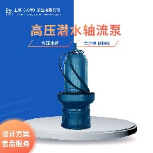500QZB-125-55KW上泵QZB潜水轴流泵用于雨水泵站、水利工程图片