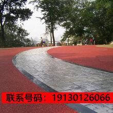 宣威市、混凝土压你能化形模地坪图片