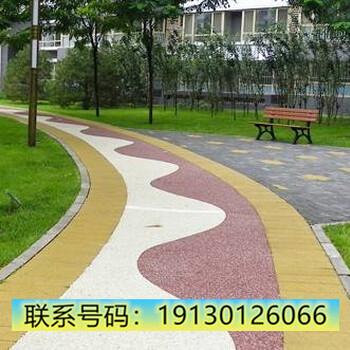 昆明市嵩明县、浇筑彩石地坪
