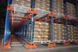 倉儲式輕型貨架/甘肅新型貫通式倉庫貨架/通廊式貨架生產商
